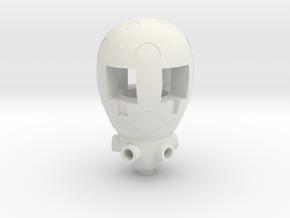 Titan Master Egg Holder in White Natural Versatile Plastic: Large