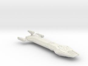 3788 Scale Hydran Mongol-H Heavy Medium Cruiser CV in White Natural Versatile Plastic