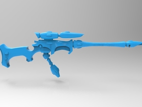 Eldar - Space Elf - Ranger Long Sniper Rifle x5 in Smooth Fine Detail Plastic