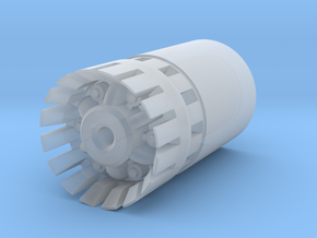 Accelerator Blade Plug LONG in Smooth Fine Detail Plastic