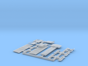 Detail Parts for RLW #2130 kit for Nn3 SP Narrow G in Smooth Fine Detail Plastic