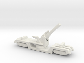 BL 12 inch howitzer Mk 3 1/285 6mm in White Natural Versatile Plastic