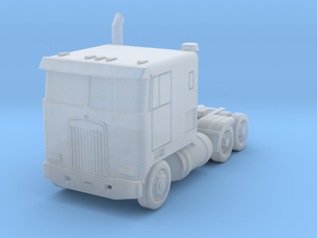 Kenworth Cabover - 1:500scale in Smooth Fine Detail Plastic