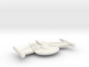 3788 Scale Romulan ChickenHawk Gunboat/PF Tender in White Natural Versatile Plastic