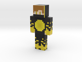 Dark_Golden | Minecraft toy in Natural Full Color Sandstone