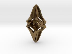 HEAD TO HEAD Origin, Pendant  in Natural Bronze