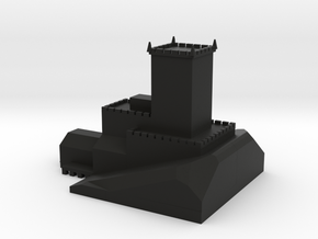 polar peak castle in Black Natural Versatile Plastic