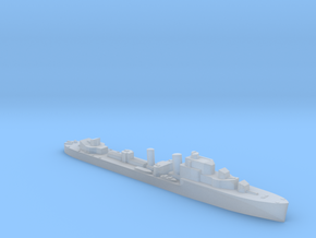 HMS Hurricane destroyer 1:2400 WW2 in Smoothest Fine Detail Plastic