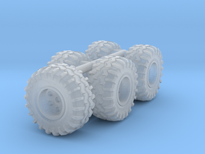 1-64 Scale 37in Meat Mudders in Smooth Fine Detail Plastic