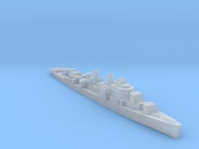 USS Douglas H Fox destroyer 1:1800 WW2 in Smoothest Fine Detail Plastic