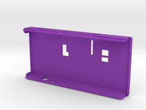 VMX-pi Lid [Raspberry Pi 4B] in Purple Processed Versatile Plastic