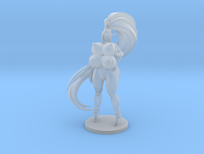 Kira Pinup 71mm in Smooth Fine Detail Plastic