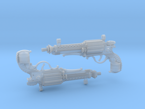 1:6 Steampistols (Set of 2)  in Frosted Ultra Detail