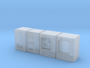 Snack machines (x4) 1/160 in Smooth Fine Detail Plastic