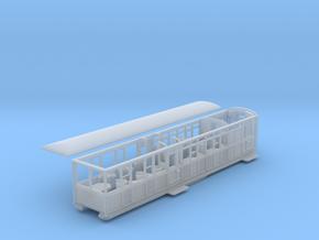 Ffestiniog Rly barn observation coach NO.102 in Smooth Fine Detail Plastic