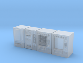 Snack machines (x4) 1/220 in Smooth Fine Detail Plastic