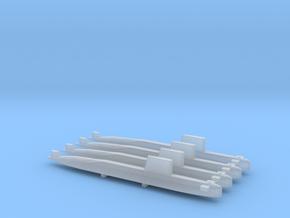 Agosta 70 SSK x 4, 1/1800 in Smooth Fine Detail Plastic