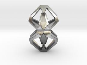 HEART TO HEART Heartonaut, Pendant in Natural Silver