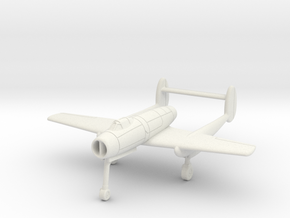 (1:144 what-if) Mansyū Ki-98 (Jet powered) in White Natural Versatile Plastic