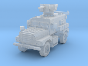 MRAP Cougar 4x4 mid 1/285 in Smooth Fine Detail Plastic