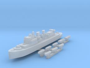 HMCS Prince Henry & landing craft 1:2400 in Smoothest Fine Detail Plastic