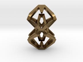 HEAD TO HEAD Perfect Union, Pendant in Natural Bronze