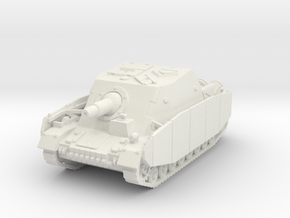 Brummbar mid (side skirts) 1/87 in White Natural Versatile Plastic
