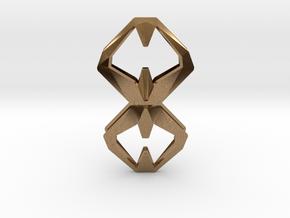 Sharp Union, Pendant. Sharp Chic  in Natural Brass