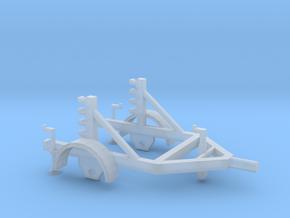 Kabelhaspel aanhanger HO in Smooth Fine Detail Plastic: 1:87 - HO