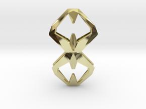 Sharp Union, Pendant. Sharp Chic  in 18k Gold