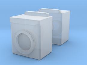 Washing Machine (x2) 1/72 in Smooth Fine Detail Plastic