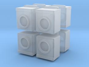 Washing Machine (x8) 1/160 in Smooth Fine Detail Plastic