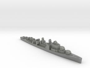 USS Blue destroyer 1:1800 WW2 in Gray PA12