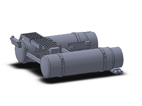 02 703 LNG Tanks Iveco Stralis in Smoothest Fine Detail Plastic