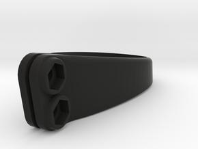 Saddle Clamp Number Holder - S-Works in Black Natural Versatile Plastic