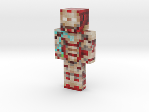 2019_Iron_Man_Mk42_IG_OverCharge | Minecraft toy in Natural Full Color Sandstone