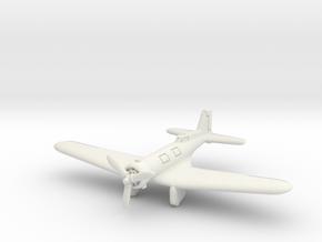 Northrop Gamma 1/285 6mm in White Natural Versatile Plastic