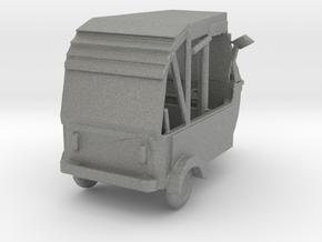 TT Scale Modern Rickshaw in Gray PA12