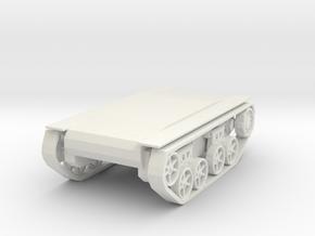 PlatformT38 in White Natural Versatile Plastic
