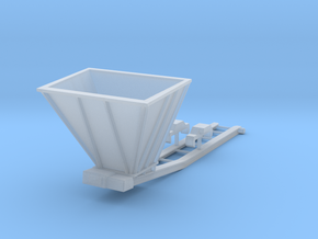 1/87th Hydraulic Excavator Bedding Conveyor in Smooth Fine Detail Plastic