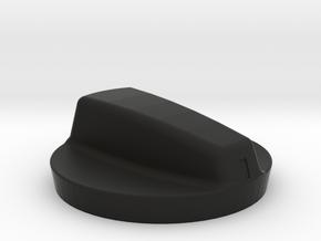 WIPER AND LIGHT SWITCH WITH POINTER in Black Premium Versatile Plastic