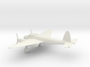 de Havilland DH.98 Mosquito B.IV in White Natural Versatile Plastic: 1:72