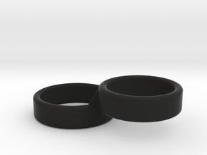 THE STABILITY RING  in Black Premium Versatile Plastic