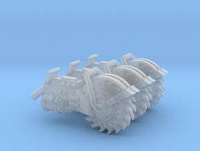 Hybrid Heavy Circular Rock Saw x 3 in Smooth Fine Detail Plastic