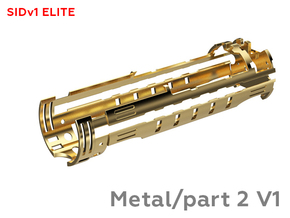 SID Chassis METAL V1 Part 2 in Natural Brass