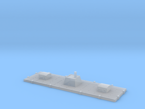1/1200 CSS New Orleans Floating Battery in Smooth Fine Detail Plastic