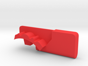 Warthog throttle part - Airbus in Red Processed Versatile Plastic
