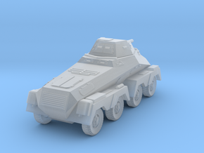 Sd.Kfz.231 8-rad (1:220 Z scale) in Smooth Fine Detail Plastic