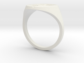 Porsche Ring in White Strong & Flexible