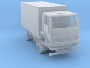 Ford Cargo box truck 1981 - 1:160 N in Smooth Fine Detail Plastic